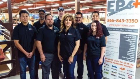 Equipment Parts Plus staff at the Las Vegas facility